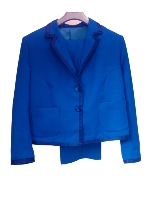 Ladies Blue Suit